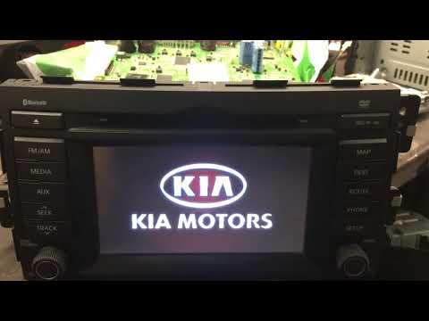 Ремонт автомагнитол KiA Mohave(Borrego)