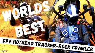 BEST Axial CAPRA-FPV Head Tracker with Pro-Line 2.2 Chisel G8 Tyres VS. RED CLIFFS 1080 60fps 2021