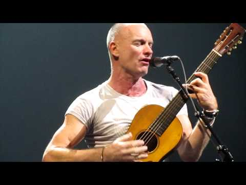 Sting - Message in a Bottle, Live in Newcastle 2012