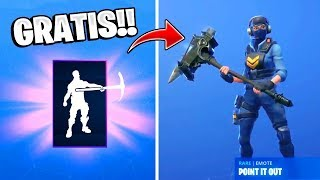 Nuevas SKINS, Bailes y Emotes *GRATIS* en Fortnite: battle royale!!