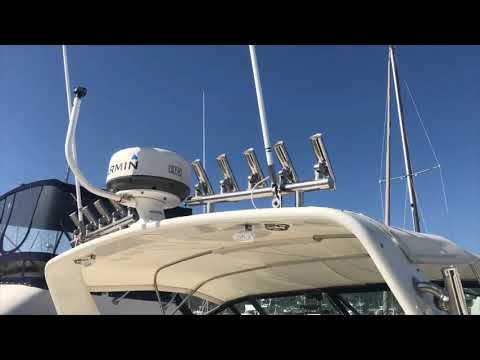 Tiara 3300 Open video