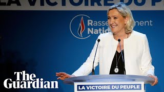 France: far-right National Rally tops vote in EU elections
