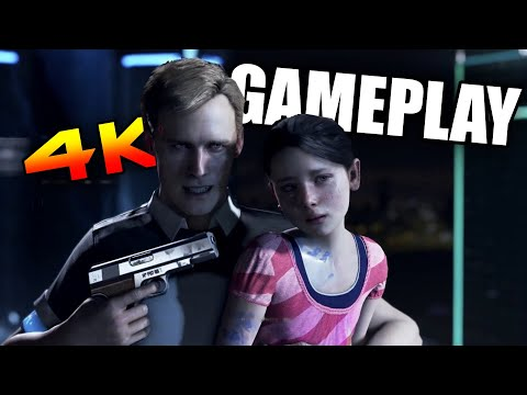 Detroit: Become Human  - Gameplay (Demo Download) [4K PC]