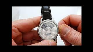 die Uhr ohne Zeiger