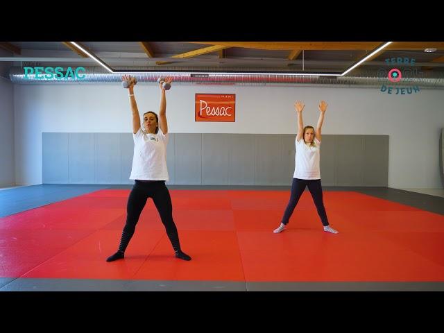 #BougeChezToi avec la Ville de Pessac - Renforcement musculaire #3