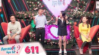 Bạn Muốn Hẹn Hò | Tập 611: Cô gái trẻ có điệu nhảy ngang ngược giữa sân khấu khiến Hồng Vân hờn dỗi