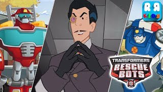 Transformers Rescue Bots: Disaster Dash - Heatwave and Chase vs Dr Morocco