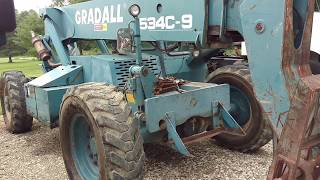 GRADALL 534C-9 REVEIW! YOU ASKED FOR IT....YOU GOT IT!