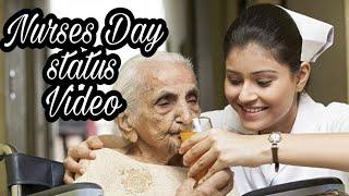 Nurses Day   Angels on earth  Malayalam Status Video