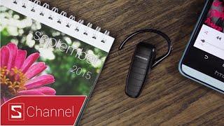 Schannel - Mở hộp tai nghe Bluetooth Plantronics ML 20: Giá tốt - chất lượng cao