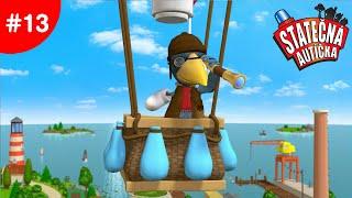 Statečná autíčka - Horkovzdušný balón