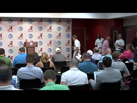 Full Saban Presser