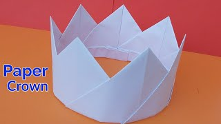 How To Make Paper Crown| Easy Paper DIY | Craft Ideas | Paper Crown Making At Home