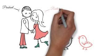 Wedding Invite Animation by Pixel Blush - Radhika & Prashant