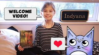 """Meet my little warrior cat """"Storm Feather"""" as we spend time reviewing Warrior Cat books and lore!"""