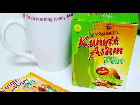 Minum Jamu Kunyit Asam +Madu SIDOMUNCUL.. Jamunya Orang Indonesia 😉😉