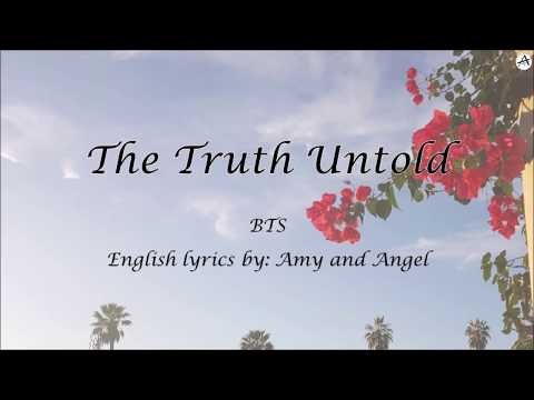 The Truth Untold - English KARAOKE - BTS