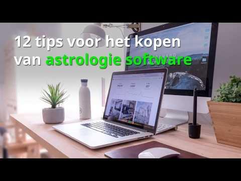 12 tips voor het kopen van astrologie software