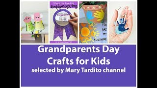 Easy Grandparents Day Crafts For Kids - Best Ideas Of Grandparents Day Gifts