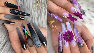 Awesome Acrylic Nail Designs ✨💅 The Best Acrylic Nail Art Designs Compilation #12