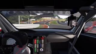 PS4 プロジェクトカーズ/スパ・フランコルシャン オンボードカメラ Game Replay