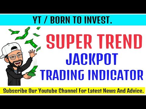 Supertrend Indicator Jackpot Strategy || Supertrend Indicator For Intraday Trading in Hindi
