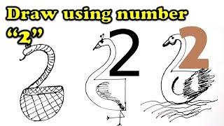 Draw Animals Using Numbers And Letters ฟร ว ด โอออนไลน ด ท ว