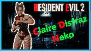 Resident Evil 2 Remake - Claire NEKO - MOD -