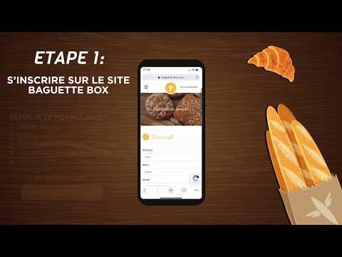 Tuto vidéo Baguette Box