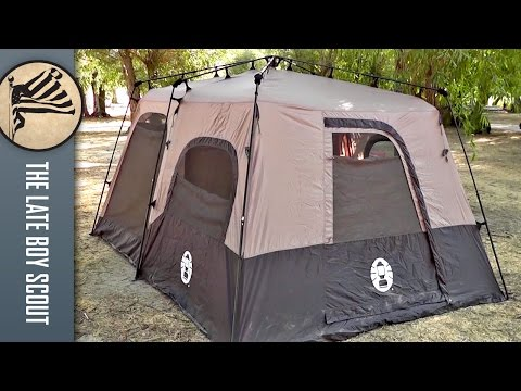 Coleman 8 Person Instant Tent Review (14'x10′)