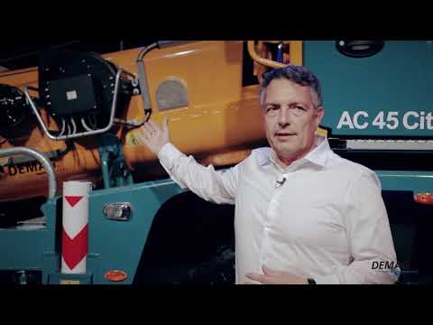 Introducing the Demag AC 45 City crane
