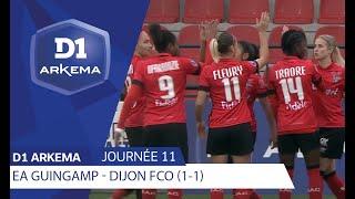 J11 : E.A Guingamp - Dijon FCO (1-1) / D1 Arkema 2019/2020