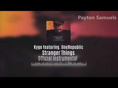 Kygo - Stranger Things (ft. OneRepublic) (Official Instrumental)