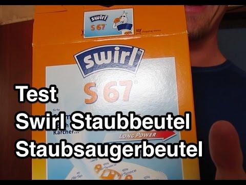 Test Swirl Staubsaugerbeutel AirSpace | Staubbeutel Test | Swirl S67