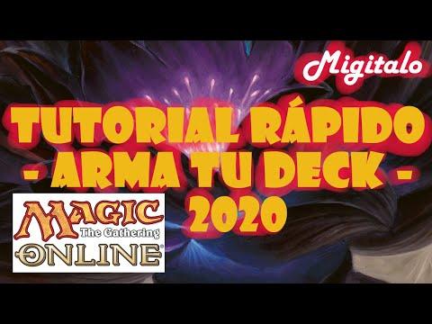 Tutorial en español Magic Online - Primeros Pasos - Arma tu Deck