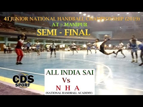 best | semifinal match  |  | handball |  [ 41 junior national handball championship 2019]  manipur
