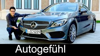 New Mercedes C-Class Coupé C400 & C63S AMG C-Klasse Documentary FULL REVIEW test driven - Autogefühl