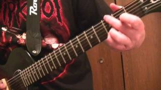 "AC/DC ""Sink The Pink"" Guitar cover."