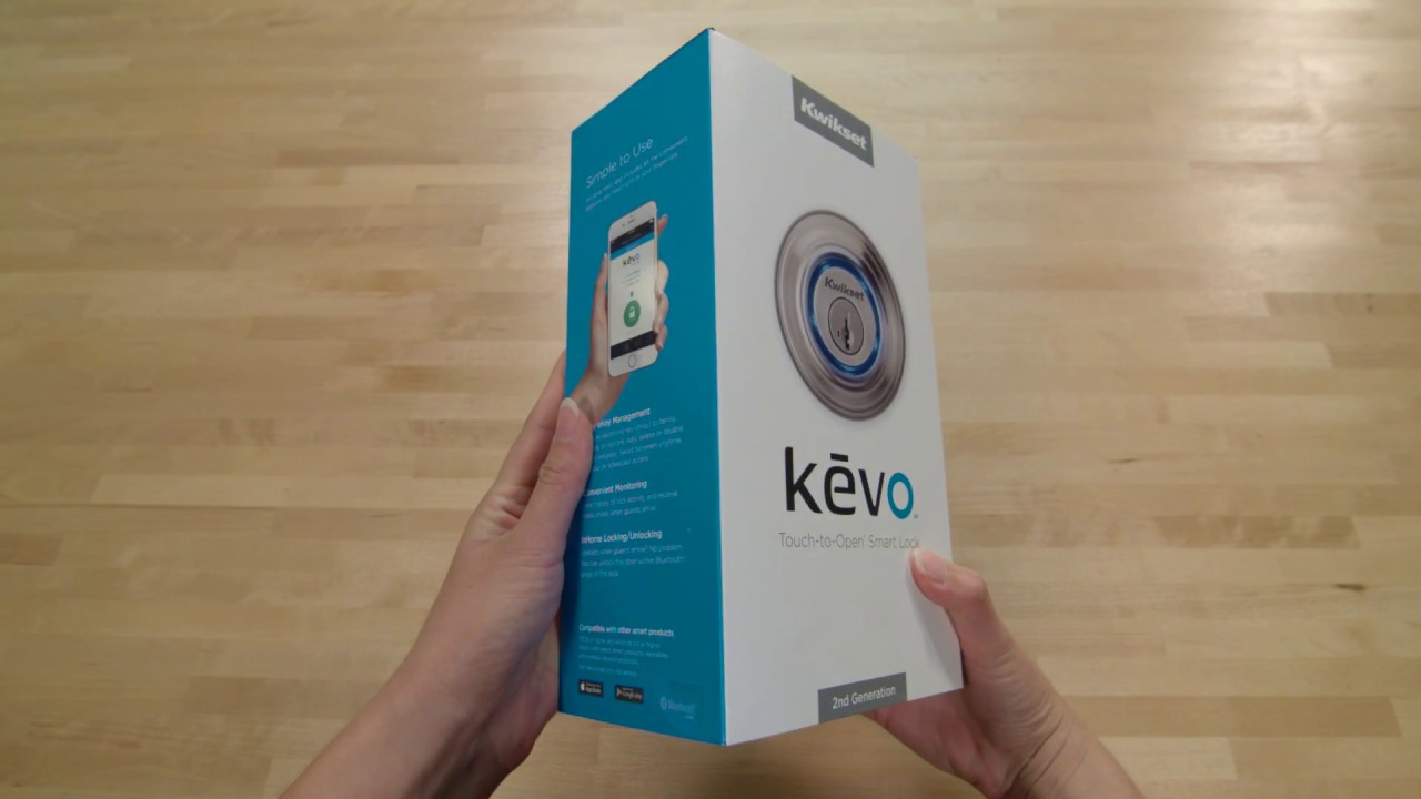 Kevo Smart Lock 2nd Gen Unboxing Video