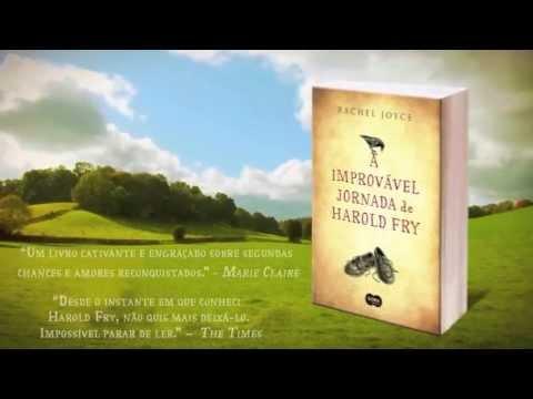 Booktrailer A improvável jornada de Harold Fry - Rachel Joyce