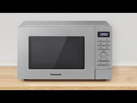 Panasonic Mikrowelle NN-S29: Solo-Mikrowelle mit Edelstahlfront