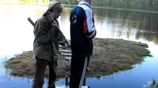 Озеро в Лейпясуо