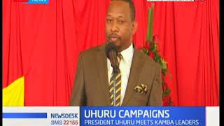 News Desk - 11th September 2017 - A section of Kamba leaders hold meetings with Uhuru Kenyatta