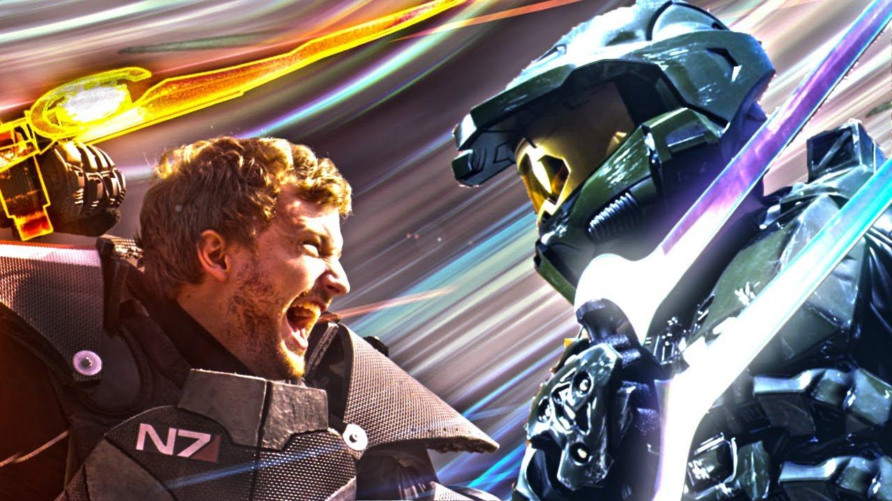 See Halo, Mass Effect, Battlefield & Modern Warfare Stab Each Other In The Guts