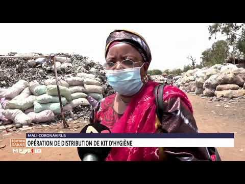 Covid-19: opération de distribution de kits d´hygiène au Mali