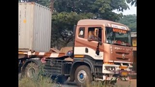 Ashok Leyland Captain 4019 Semi Trailer   Metallic Paint