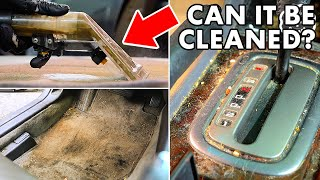 DEEP CLEANING The Nastiest Car Ever! Complete Disaster Full Interior and Exterior Car Detailing!