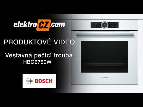 Pečící trouba Bosch HBG6750W1