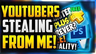 YOUTUBERS ARE STEALING MY THUMBNAILS?!?! 😡 (YOUTUBE THUMBNAILS RANT)
