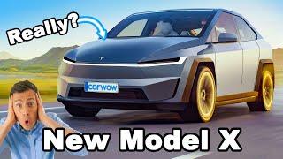 New Tesla Model X - will it be a mini Cybertruck?